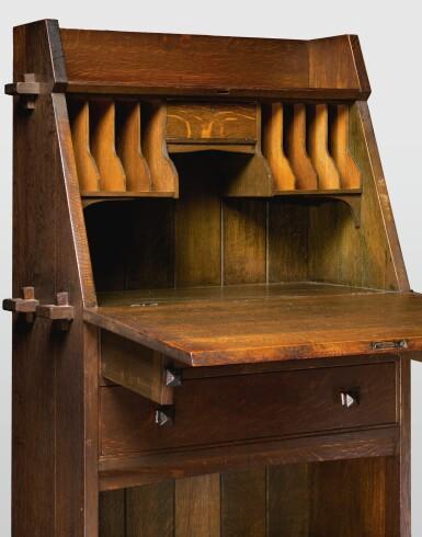 View 2. Thumbnail of Lot 319. A Rare Writing Desk, Model No. 521.