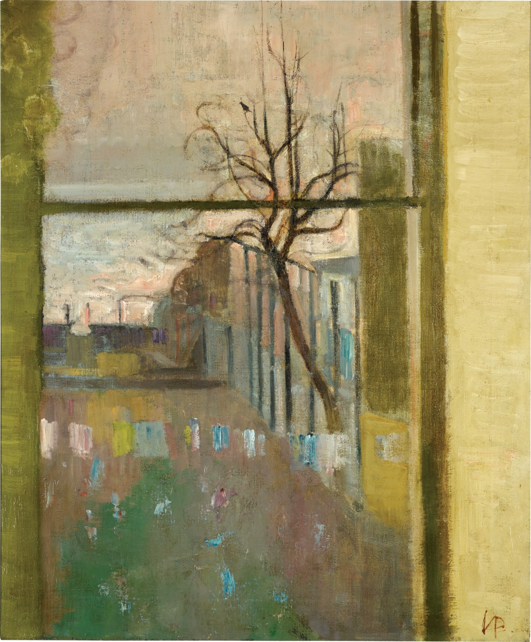 View full screen - View 1 of Lot 631. VICTOR PASMORE, R.A. | VIEW TO THE THAMES.