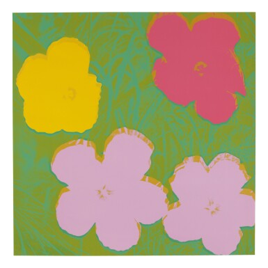 View 6. Thumbnail of Lot 63. ANDY WARHOL | FLOWERS (F. & S. II.64-73).