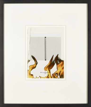 View 2. Thumbnail of Lot 13. WADE GUYTON | UNTITLED MARCEL BROODTHAERS (4 M.B., 24 IMAGES SECONDE).