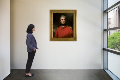 View 4. Thumbnail of Lot 30. Portrait of Lieutenant-General Sir Herbert Taylor (1775–1839) |《英國陸軍中將賀伯・泰勒(1775-1839)肖像》.