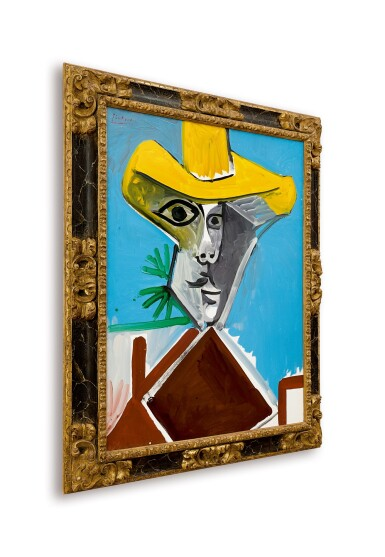 View 3. Thumbnail of Lot 12.  Pablo Picasso 巴布羅・畢加索 | Buste d'homme 男子半身像.