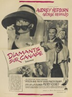 BREAKFAST AT TIFFANY'S / DIAMANTS SUR CANAPÉ (1953) POSTER, FRENCH