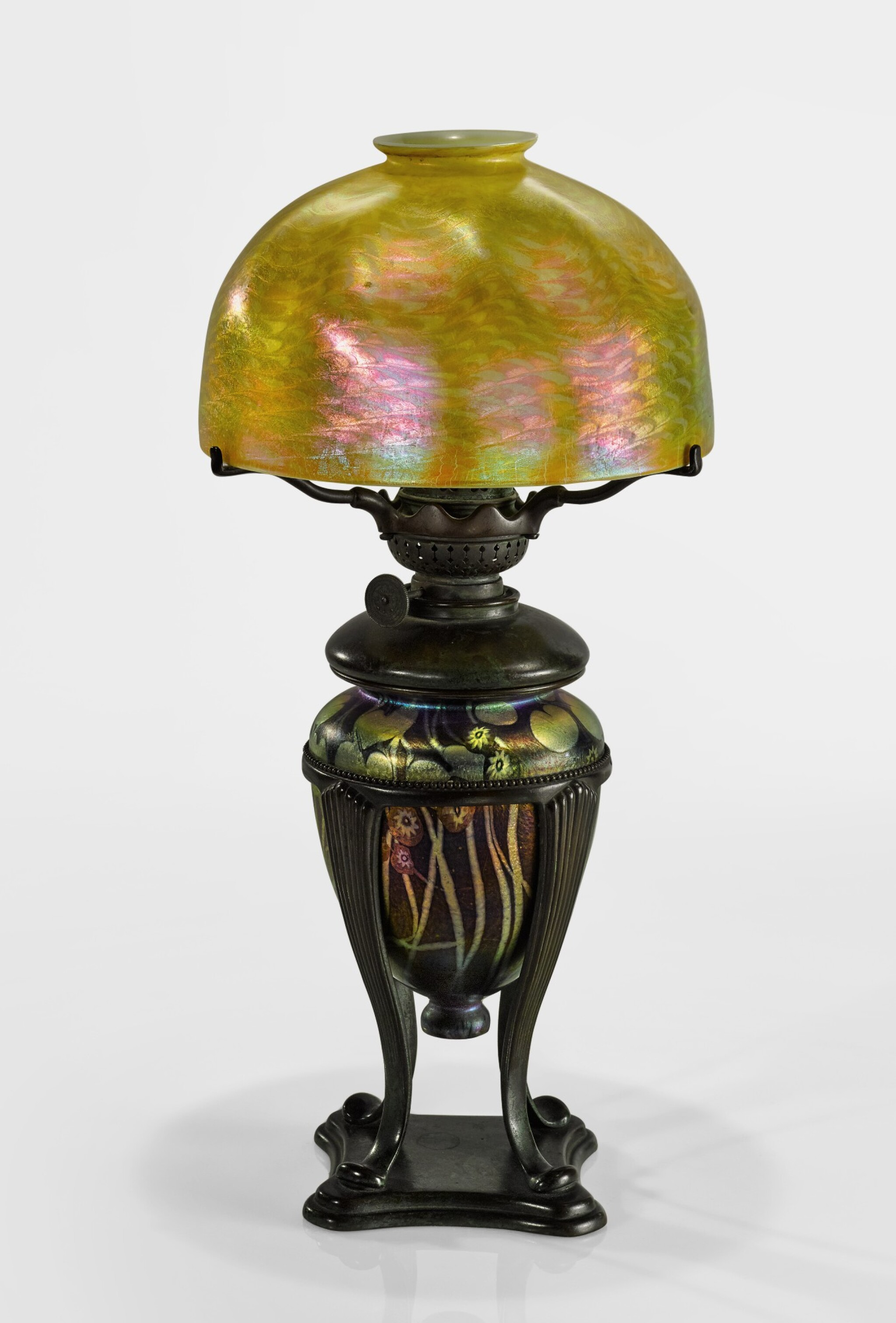 Tiffany Studios Millefiori Kerosene Table Lamp Dreaming In Glass Masterworks By Tiffany Studios 20th Century Design Sotheby S
