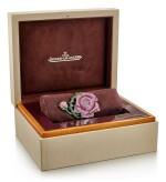 JAEGER-LECOULTRE | 'MONTRE EXTRAORDINAIRE LA ROSE', LADY'S GEM SET AND DIAMOND BANGLE-WATCH |  積家 | 'Montre Extraordinaire La Rose' 寶石 配 鑽石 女士腕錶
