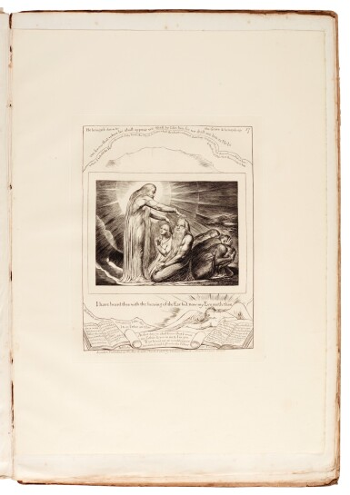 View 5. Thumbnail of Lot 91. BLAKE | Illustrations of the Book of Job, 1825 [but 1826].