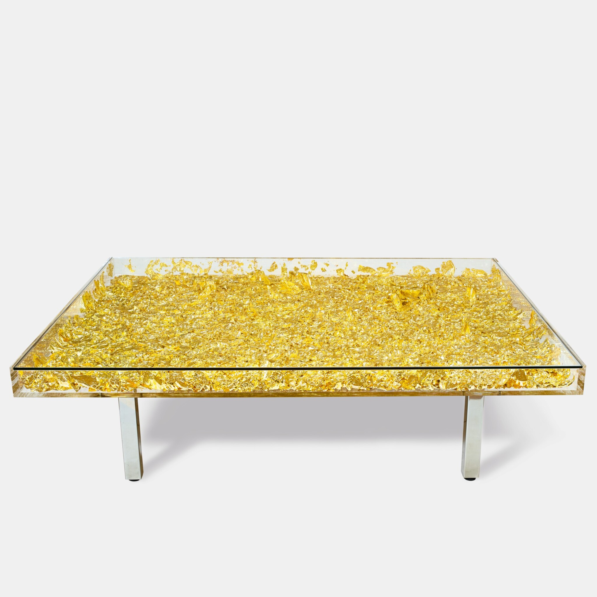 View full screen - View 1 of Lot 622. Yves Klein 伊夫・克萊因 | Table MONOGOLD™ 黃金桌.