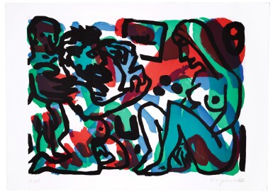 View 3. Thumbnail of Lot 3.  A. R. PENCK | BERLIN SUITE.