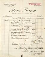 RENÉ BOIVIN | SAPPHIRE AND DIAMOND BROOCH, 1939