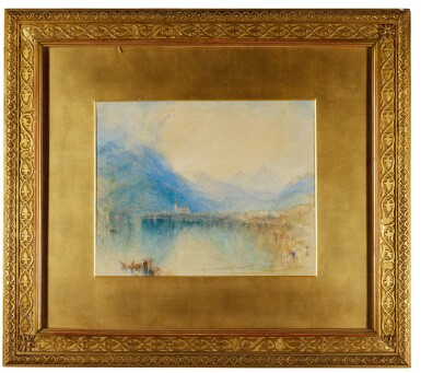 View 2. Thumbnail of Lot 66. WILLIAM WARD | Arth, on the Lake of Zug, Switzerland (Early Morning), after Joseph Mallord William Turner, R.A..
