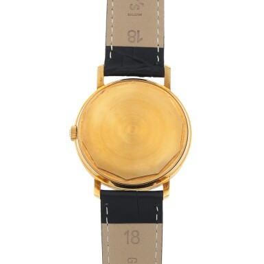 View 4. Thumbnail of Lot 88. Ref. 3445 'Monodate' Yellow gold wristwatch with date Made in 1966 | 百達翡麗 3445型號「Monodate」黃金腕錶備日期顯示,1966年製.