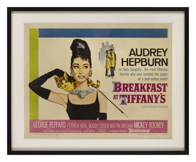 View 2. Thumbnail of Lot 53. Breakfast at Tiffany's (1961) poster, US.