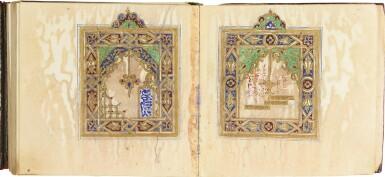 AN ILLUMINATED COLLECTION OF PRAYERS, INCLUDING DALA'IL AL-KHAYRAT, MOROCCO, 19TH CENTURY