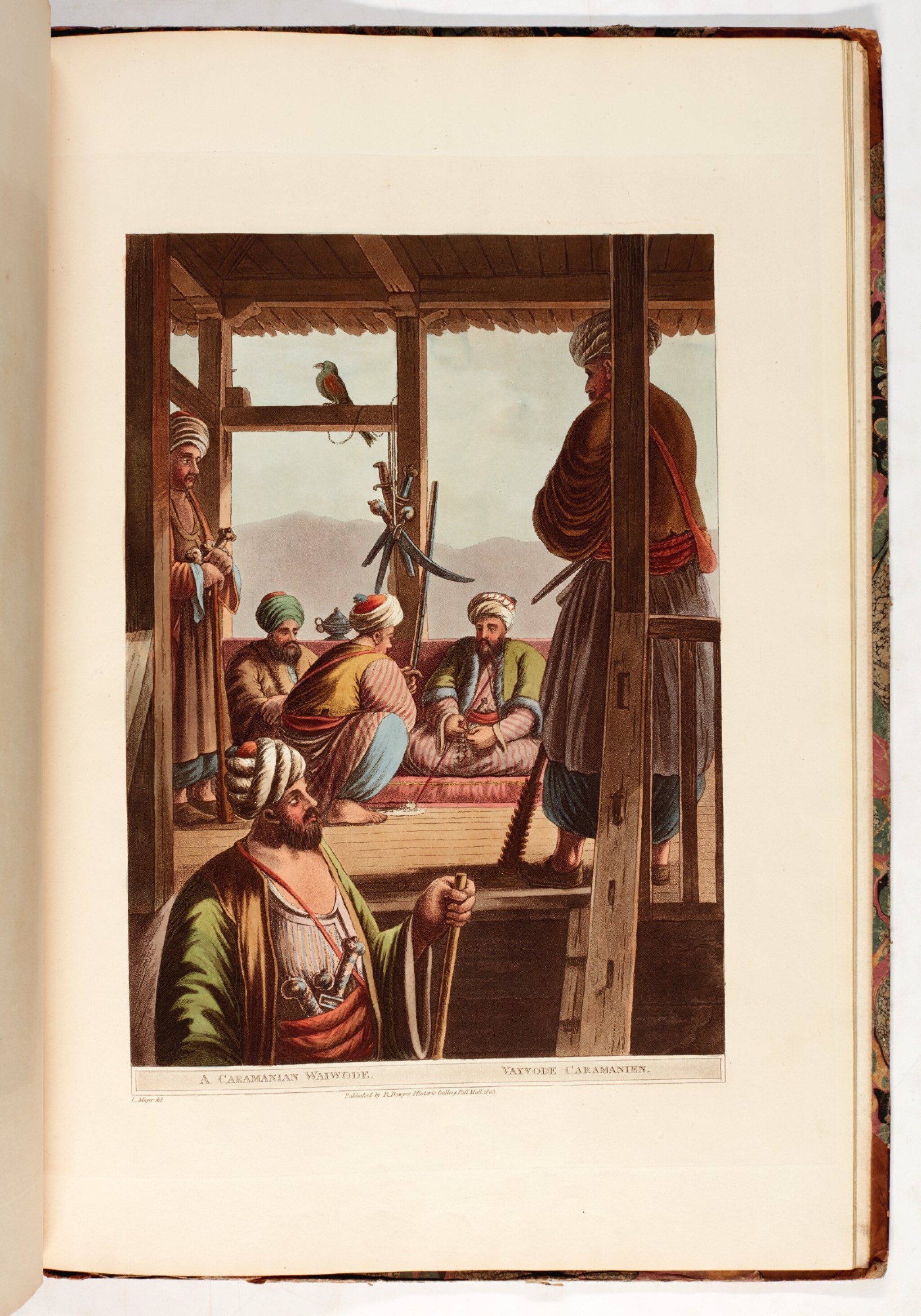 View 1 of Lot 164. Mayer | Views of the Ottoman Empire  |  Davenport, Historical Portraiture .