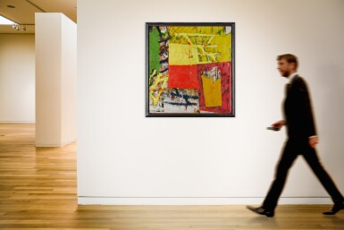 View 4. Thumbnail of Lot 35. Untitled (Yellow- Red Composition).
