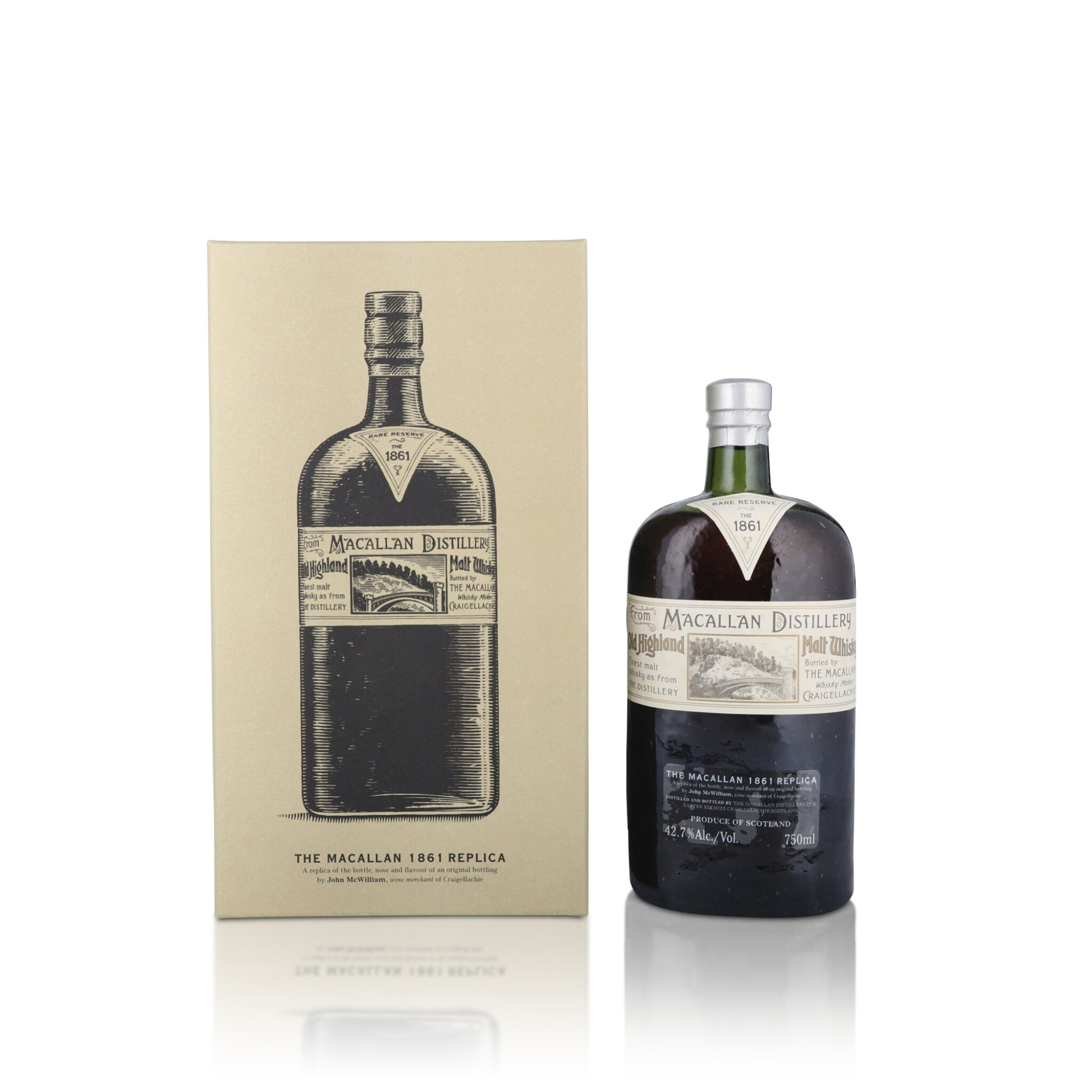 View full screen - View 1 of Lot 30. The Macallan 1861 Replica 42.7 abv NV (1 BT75).