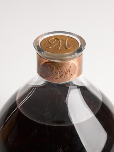 View 3. Thumbnail of Lot 6. THE MACALLAN MILLENNIUM DECANTER 50 YEAR OLD.