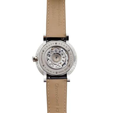 View 3. Thumbnail of Lot 1842. 'GraffStar' Limited Edition Diamond and Emerald Wristwatch with Date   格拉夫   'GraffStar' 限量版鑽石 配 祖母綠 自動上鏈腕錶,附日期顯示.