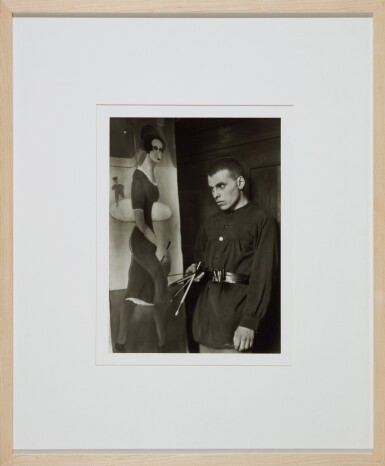 View 3. Thumbnail of Lot 63. AUGUST SANDER   'PAINTER (GOTTFRIED BROCKMANN)', 1924; AND 'DANCER (RAOUL HAUSMANN)', 1938 .
