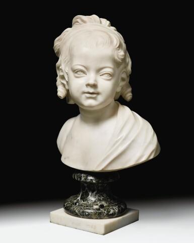 View 10. Thumbnail of Lot 63. Portrait of Constance-Félicité-Victoire-Désirée Vassé, daughter of the artist.