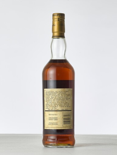 View 2. Thumbnail of Lot 2003. The Macallan 18 Year Old 43.0 abv 1973 (1 BT70).