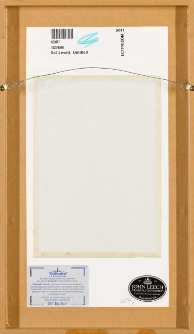 View 3. Thumbnail of Lot 3. SOL LEWITT  | HORIZONTAL BANDS.