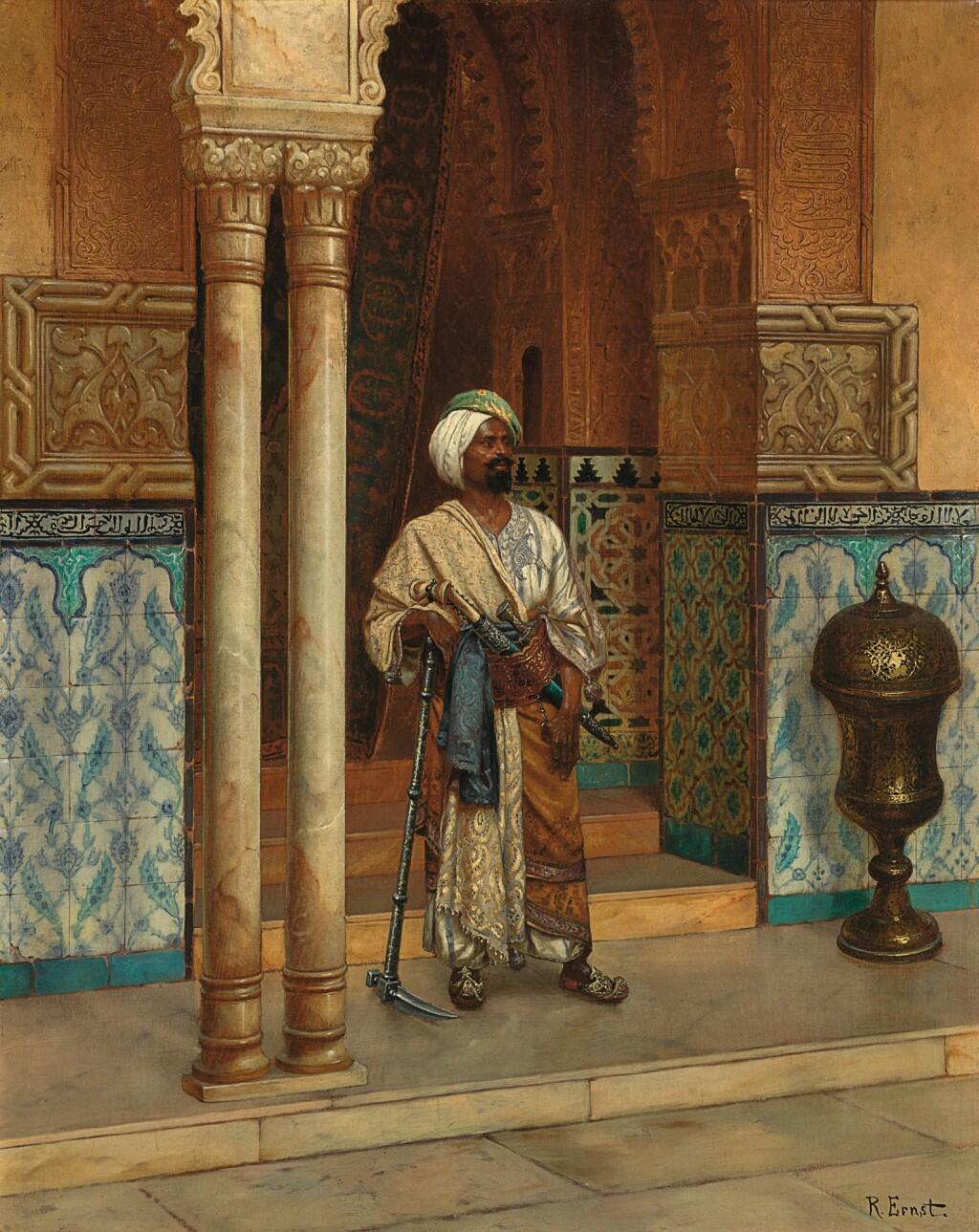 RUDOLF ERNST | THE PALACE GUARD