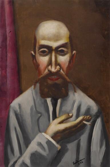 View 1. Thumbnail of Lot 54. Bildnis eines Türken (Portrait of a Turk).
