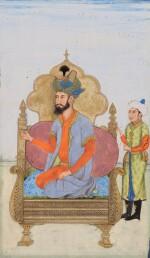 THE EMPEROR HUMAYUN ENTHRONED, INDIA, DELHI, CIRCA 1800
