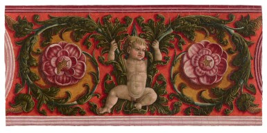 View 1. Thumbnail of Lot 33. LIBERALE DA VERONA  |  PUTTO WITH GARLANDS.