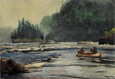View 1. Thumbnail of Lot 50. In the Rapids.