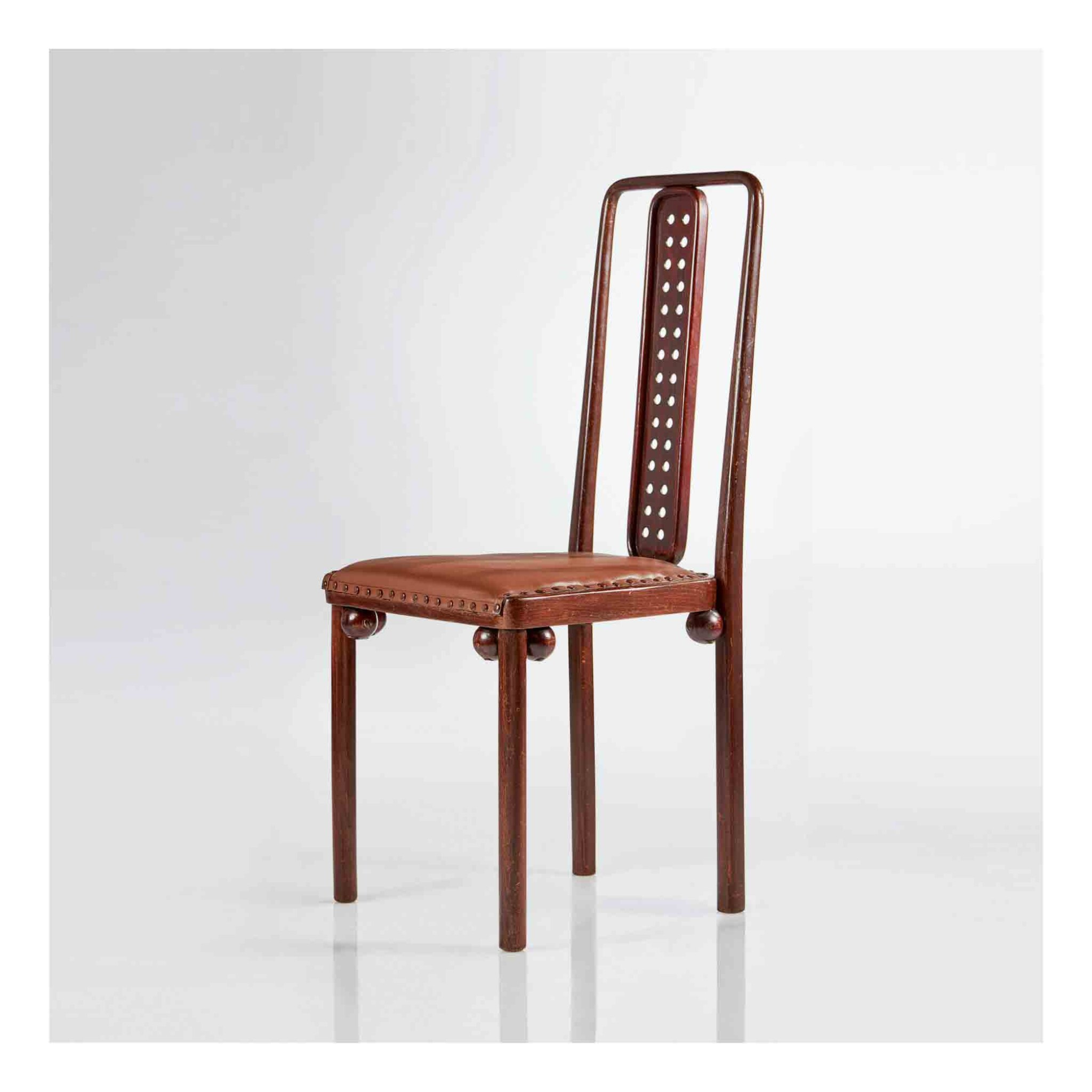 View 1 of Lot 340. Side Chair, Model No. 322.