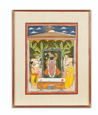 View 2. Thumbnail of Lot 35. RAJASTHAN, 19TH CENTURY | SEVEN INDIAN MINIATURES.
