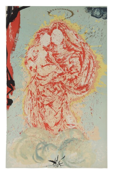View 11. Thumbnail of Lot 79. Pages choisies de Don Quichotte de la Manche (Michler/Löpsinger 1001-1012; Field 57-1).