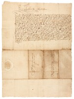 ELIZABETH I | early letter signed, to Edward North, First Baron North, 1560