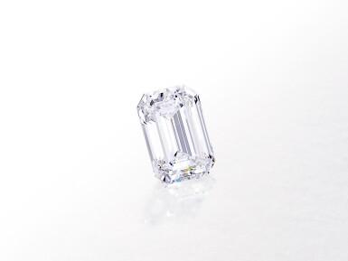 View 2. Thumbnail of Lot 8002. Unmounted Diamond   10.88克拉 方形 D色 完美無瑕 鑽石.