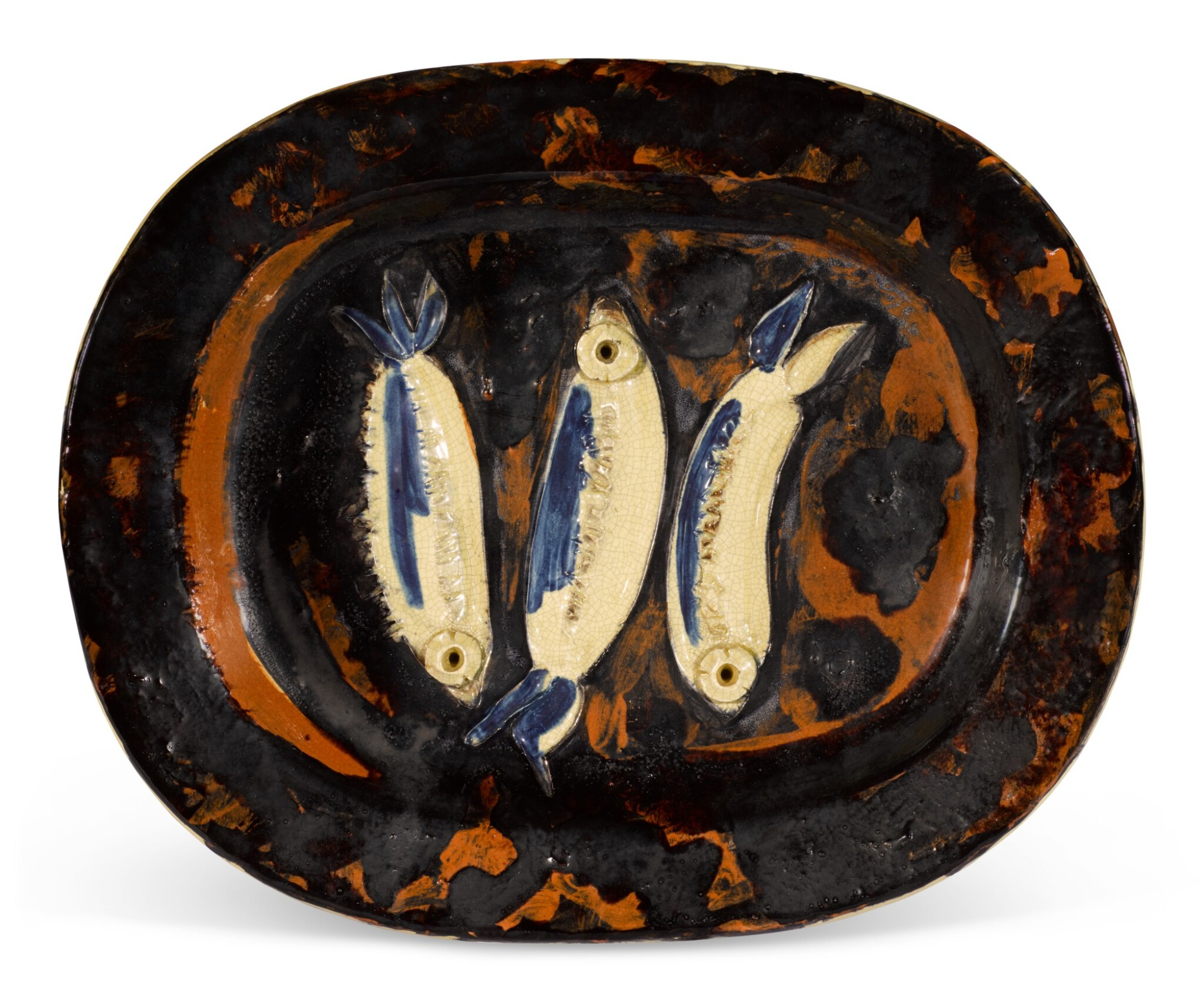 View full screen - View 1 of Lot 5. PABLO PICASSO | TROIS SARDINES (A. R. 34).