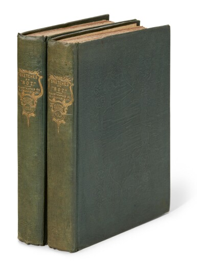 Dickens, Sketches by Boz, 1836, second edition with additional preface
