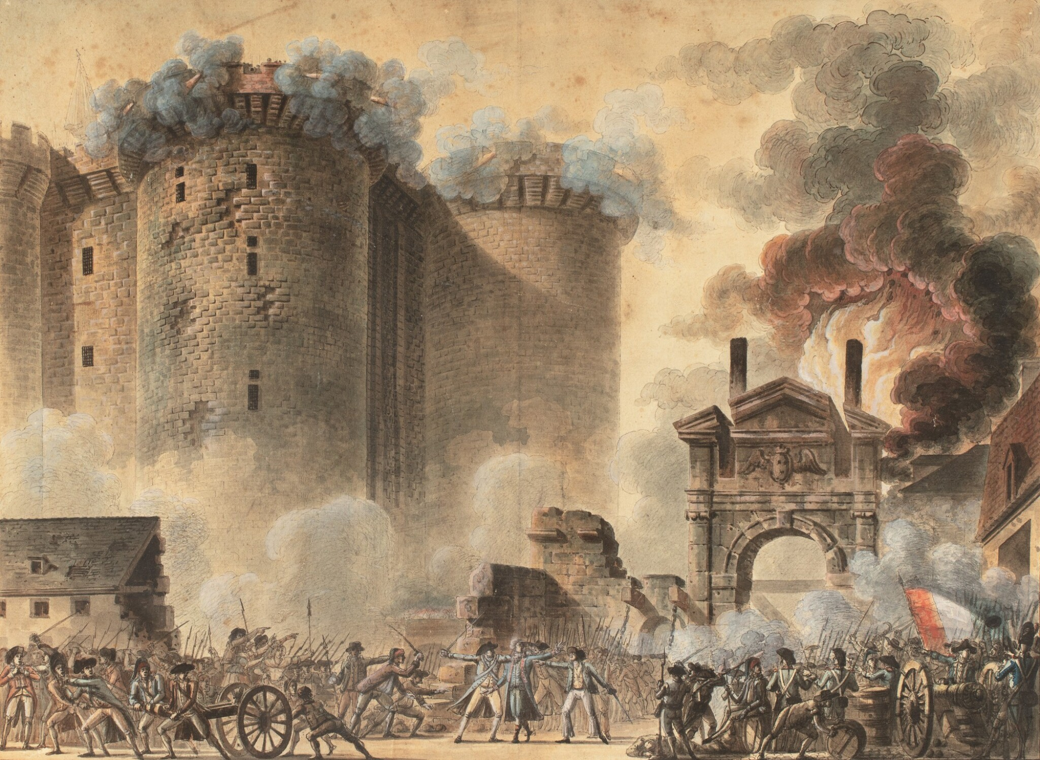 View full screen - View 1 of Lot 67. The Storming of The Bastille.