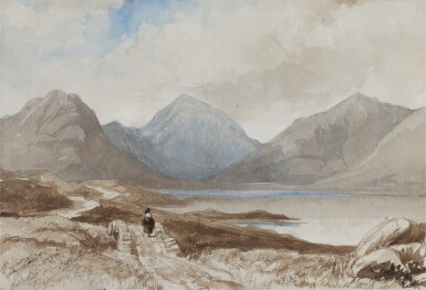 View 1. Thumbnail of Lot 90. Wastwater, Lake District, England.