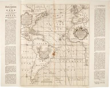 View 2. Thumbnail of Lot 56. SEA CHARTS   The English Pilot. Parts 1-4, 4 volumes, 1743-1740-1750-1742.