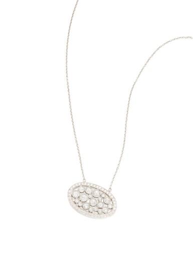 DIAMOND 'COBBLESTONE' PENDANT-NECKLACE, TIFFANY & CO.