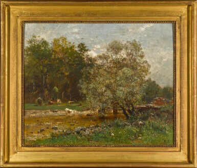 View 2. Thumbnail of Lot 110. Ford over a River.