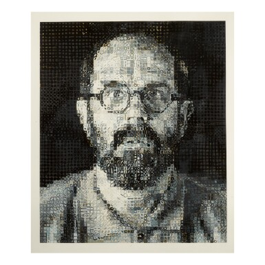 CHUCK CLOSE | SELF-PORTRAIT