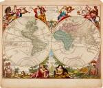 WORLD MAP | Elwe, Mappe Monde, 1792