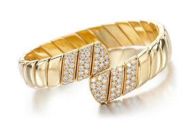 DIAMOND BANGLE, ATTRIBUTED TO CARTIER