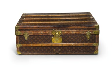 A Louis Vuitton Motoring Trunk Early 20th Century