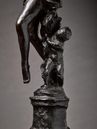 JEAN-BAPTISTE CARPEAUX | L'AMOUR DÉSARMÉ, ESQUISSE (SKETCH OF CUPID DISARMED)
