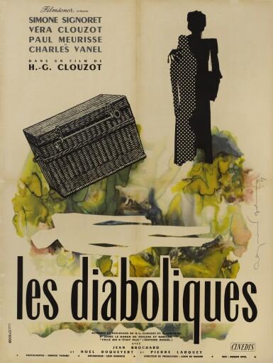 LES DIABOLIQUES (1955) POSTER, FRENCH