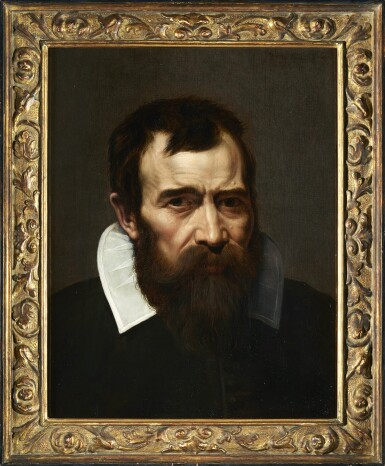 View 2. Thumbnail of Lot 237. PIETER VAN LINT | PORTRAIT OF A BEARDED MAN, BUST-LENGTH, IN BLACK WITH A WHITE COLLAR.